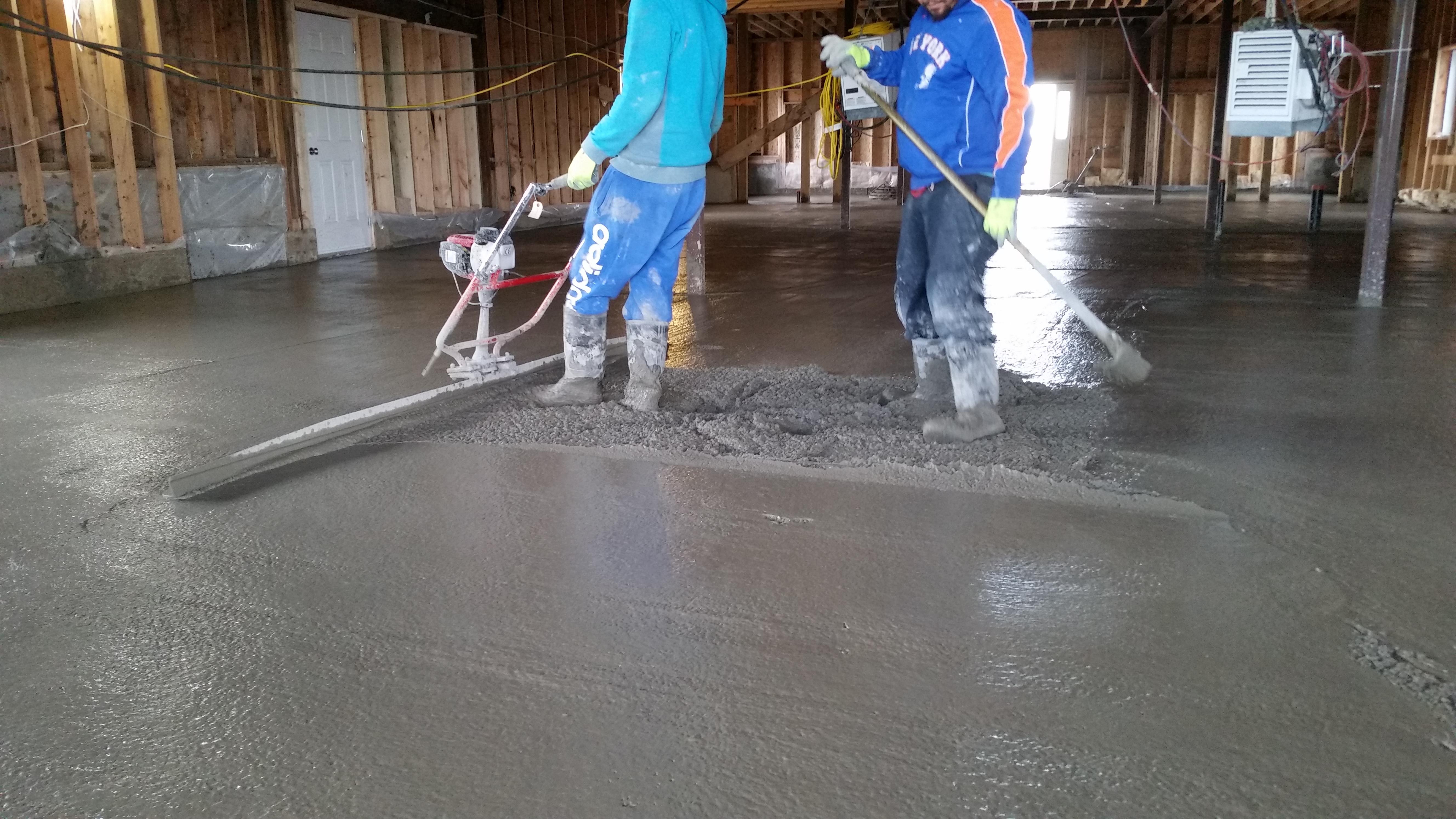 Concrete For Basement